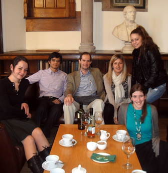Christmas group lunch 2010
